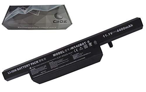 Ersetzt den Laptop-Akku 11,1V,4400mAh W540BAT-6,6-87-W540S-427,6-87-W540S-4W41,6-87-W540S-4U42 für den Aquado M1519