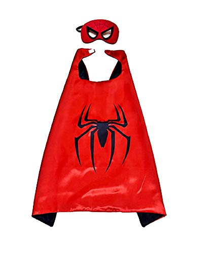 Disfraz de Spiderman - spiderman - disfraces para nios - halloween - carnaval - superhroe - color rojo - mscara - capa - nio - 3/6 aos - idea de regalo original spiderman