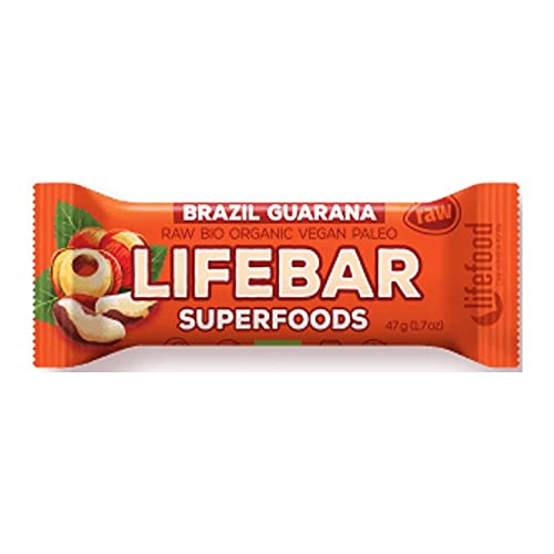 Lifefood Lifebar Plus Brésil Guarana Bio/Cru 47 g