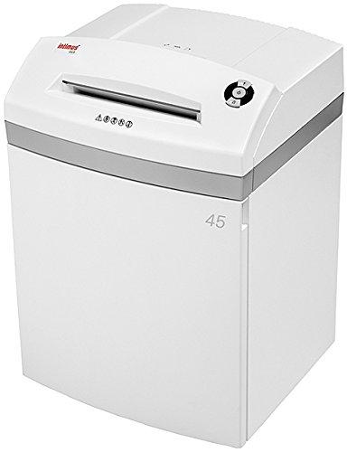 Intimus 45 CC3 Cross shredding 55dB Color blanco - Triturador de papel (Cross shredding, 23,5 cm, 1440 hojas, 55 dB, 3.8 x 30, 15 hojas)