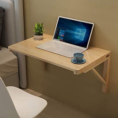 NewbieBoom Tragbarer Wandklapptisch mit Klapptabletts Küchen- und Esstisch Faltbarer Platzspar-Klappschreibtisch (Größe 50x30 cm), 60x45 cm