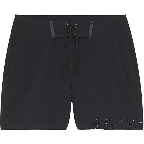 Chiemsee Damen mit 4-Way Stretch Badeshorts, 997 Deep Black, 27