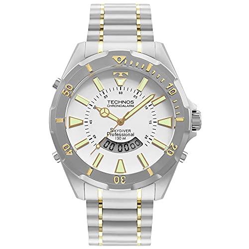 Relógio Technos Masculino Skydiver Prata - WT205FQ/5B