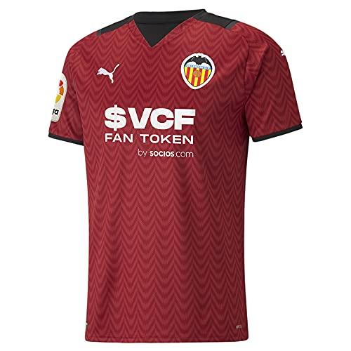 Puma - Valencia Temporada 2021/22 Camiseta Segunda Equipación, Hombre