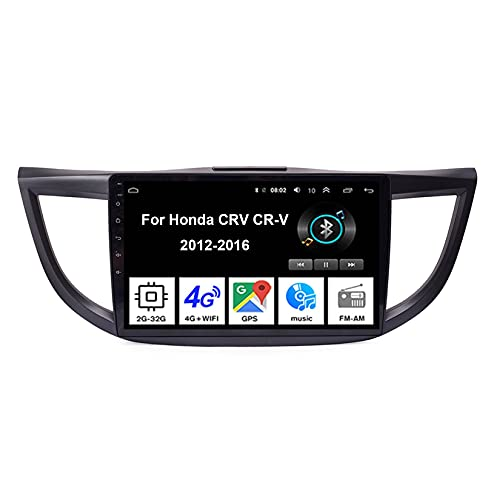 Android 10 9 Inch Pantalla Tactil Para Coche Reproductor Car Stereo Para Honda CRV CR-V 2012-2016 Radio Del Coche Car Player Conecta Y Reproduce Coche Audio USB Mirror Link