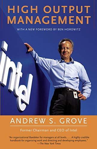 Compare Textbook Prices for High Output Management 2nd Edition ISBN 8601404570025 by Grove, Andrew S.