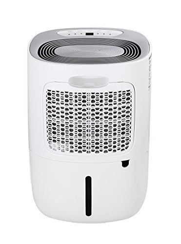 Meaco MeacoDry Dehumidifier ABC Range 12L (Silver) Ultra-Quiet, Energy Efficient, Choice of Colours, – Beats Desiccant Dehumidifiers on Sound Levels – Ideal for Damp and Condensation in the Home