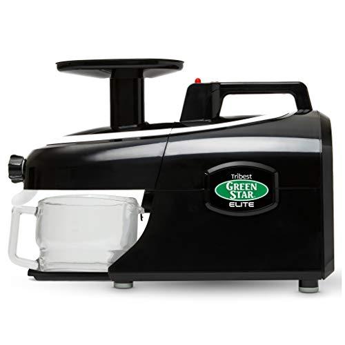 Tribest GSE-5010 Greenstar Elite Masticating Juicer, Black