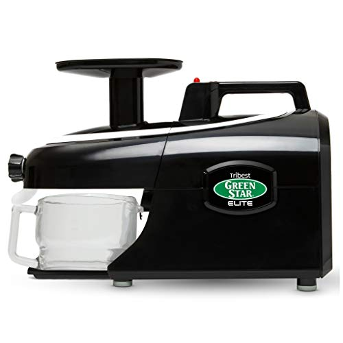 Tribest GSE-5010 Greenstar Elite Masticating Juicer, Black
