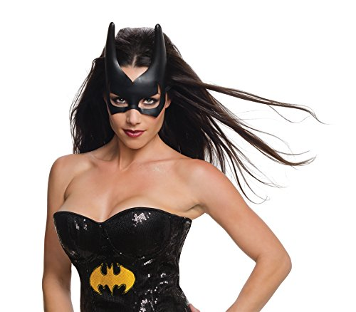 Rubie's Women's DC Superheroes, Bat Girl Mask, One Size