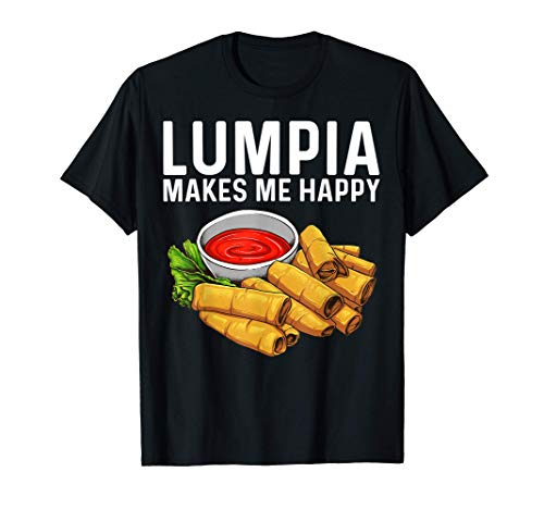 Funny Lumpia Gift For Men Women Pinoy Filipino Food Lovers T-Shirt
