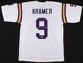 Tommy Kramer Autographed Signed Memorabilia Minnesota Vikings Jersey Inscribed Two Minute Tommy JSA