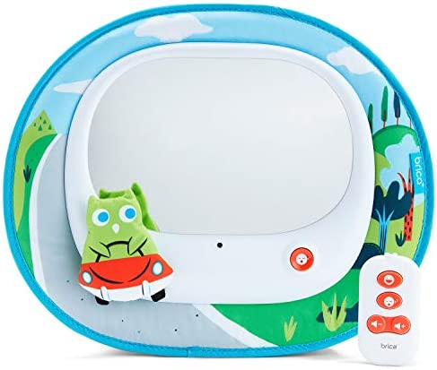 Brica Cruisin Baby In Sight Car Mirror Owl product image