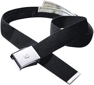 Travel Blue Black Cotton Belt For Unisex