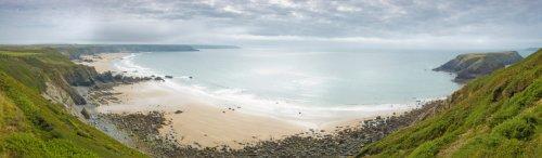 Satmap National Trails Carte National Trails (UK) sur carte SD Pembroke Coast Path