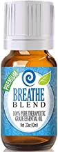 Healing Solutions Breathe Blend Essential Oil - 100% Pure Therapeutic Grade Breathe Blend Oil - 10ml