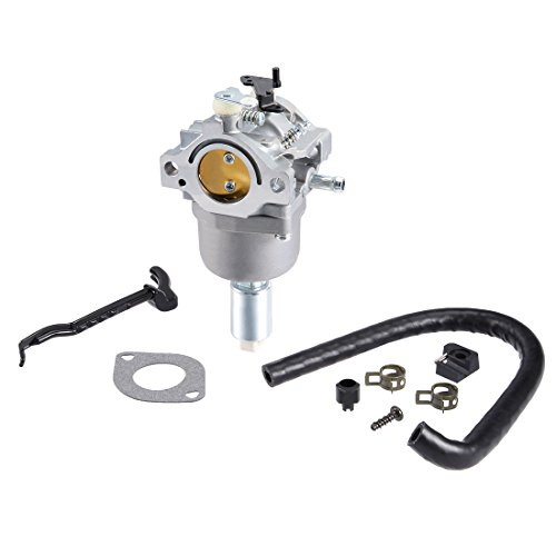 uxcell 593433 Carburetor Carb Fits for Briggs & Stratton 699916 794294 for Nikki 21B000 Engine Lawn Mower W Gasket Kit