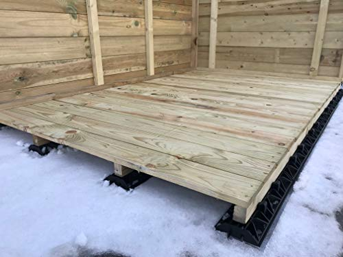 EcoBearer Shed Base Kit for an 10ft x 8ft with 8 bearers- Kit consists of 40 Eco-bearers