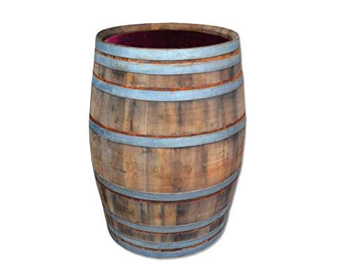 Temesso 300 Liter Weinfass als Regenfass - Rustikal (Geölt)