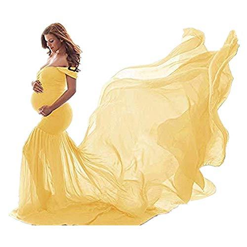 Vectry Vestidos De Premama para Fotos Ropa Mujer Embarazada Vestido Premama Fiesta Vestidos Boda Tallas Grandes Vestidos Mujer Verano 2019 Vestidos Largos Casual Primavera