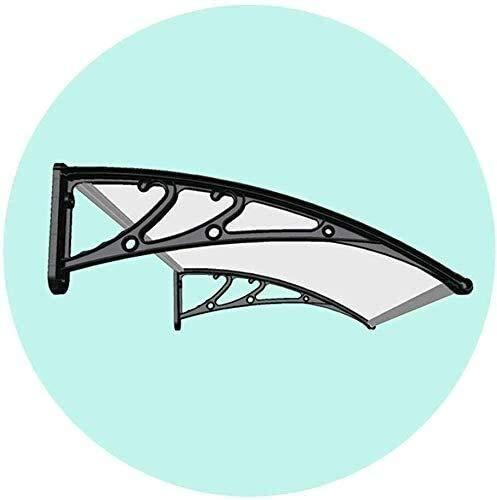 WSND FZWAI Puerta del pabellón del jardín al Aire Libre Patio de Sombra Techo Protege del Sol, Lluvia, Nieve Dosel Puerta Exterior Toldos Puerta Principal del pabellón