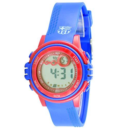 Seva Import 7001448 Reloj Barcelona, Azul, S