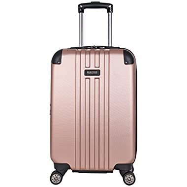 Kenneth Cole Reaction 20  Abs Expandable 8-Wheel Carry-on Luggage, Rose Gold