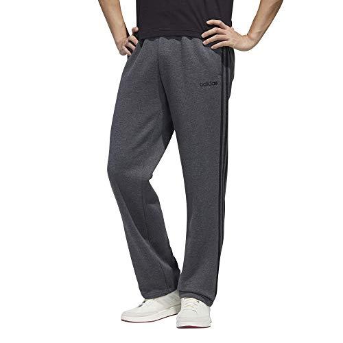adidas Herren Essentials 3-Streifen Fleece Jogger Pants, Herren, Hose, IXW44, Replica Grey, 3XL
