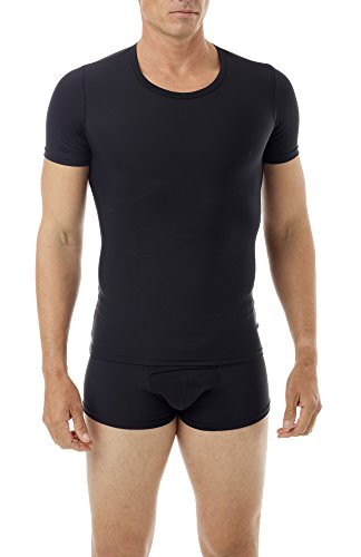 Underworks Mens Extreme Gynecomastia Chest Binder Girdle T-Shirt 998