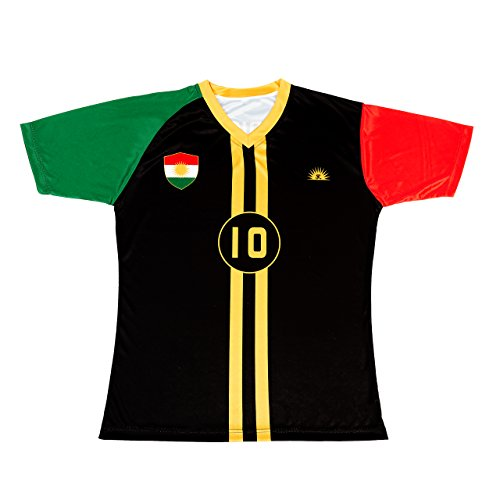 sk Kurdistan Black Trikot (m)