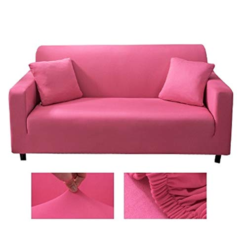 OYZK Massive Farbe Ecksofa Abdeckungen für Wohnzimmer Elastische Spandex-Slipcover Couch Cover Stretch Sofa Handtuch L Formbedarf 2-Stück kaufen (Farbe : 20, Specification : 1 seat Sofa)