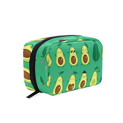 Toiletry Bag Avocado Cosmetic Bag Portable Makeup Bag Pouch Travel Hanging Organizer Bag for Women Girls
