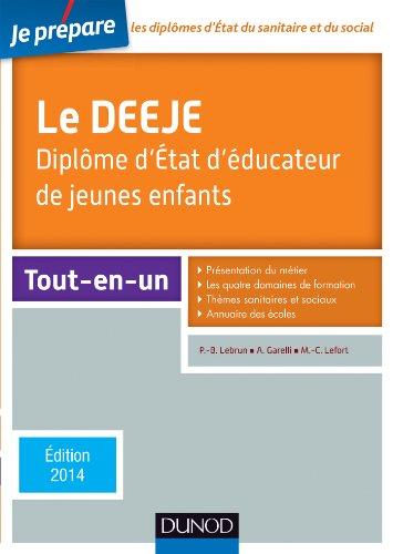 Je Prepare Le Deeje Diplome Detat Deducateur De Jeunes Enfants