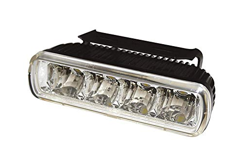 HIGHSIDER LED-Tagfahrlicht Aluminium Gehäuse XC 450 Quad Maxxer 250 Onroad YFM 350 A GA Grizzly 2WD