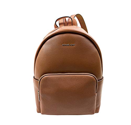 Michael Kors Women's 35T0GERB5L Erin Small Convertible Leather Backpack, Luggage Brown (Luggage Brown)