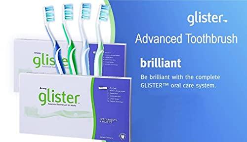 Hochwertige Zahnbürste GLISTER™ - 4 Stück - Amway - (Art.-Nr.: 100957)