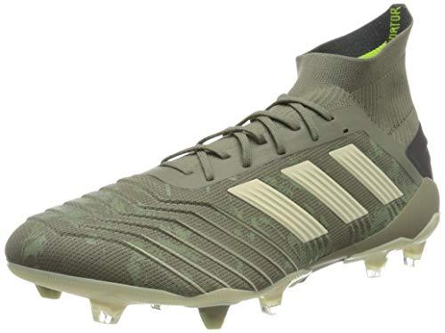 adidas Herren Predator 19.1 FG Fußballschuhe, Grün (Legacy Green/Sand/Solar Yellow Legacy Green/Sand/Solar Yellow), 44 2/3 EU