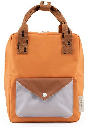Kleine rugzak Envelope Sprinkles - Apricot Orange, Cinnamon Brown, Lavender