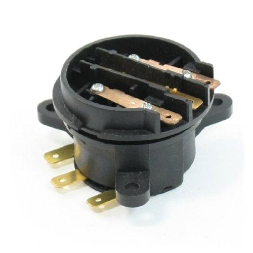 Aexit Kit de termostato de chaleira elétrica para uso doméstico com 3 terminais de controle de temperatura