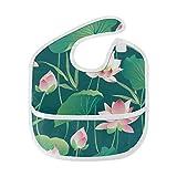 Pintado Loto Flor de verano Personalizado Suave y resistente agua Mancha...