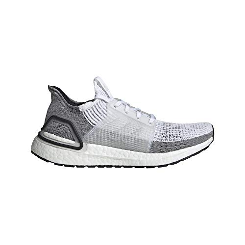 adidas Women's Ultraboost 19 W Running Shoes, White (FTWR White/Crystal White/Grey Two F17 FTWR White/Crystal White/Grey Two F17), 4 UK