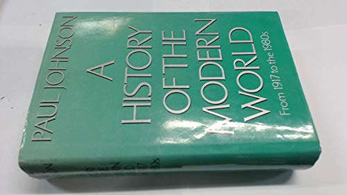 Download History of the Modern World: From 1917 to the 1980's 0297782266