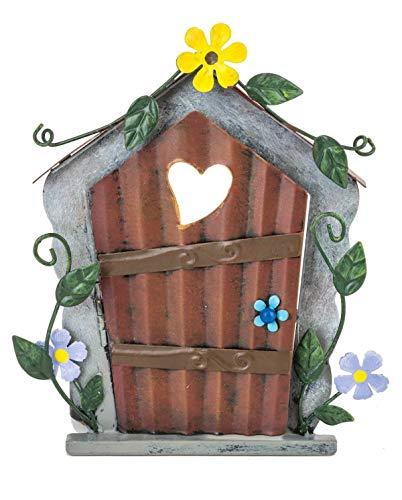 Fountasia - Puerta de Hadas, diseño de corazón y Flor Amarilla