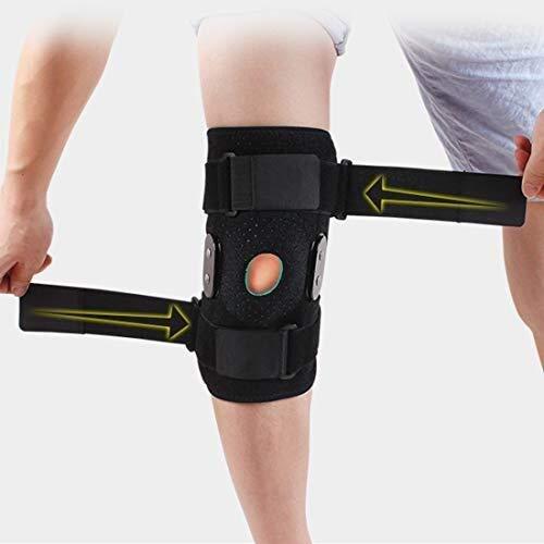 HLR Rodilleras médicas Rodilla Brace textuales, Médico inmovilizador de Rodilla Ayuda ortopédica de Rodilla Protector for la Fractura del ligamento Strain, lesión de menisco