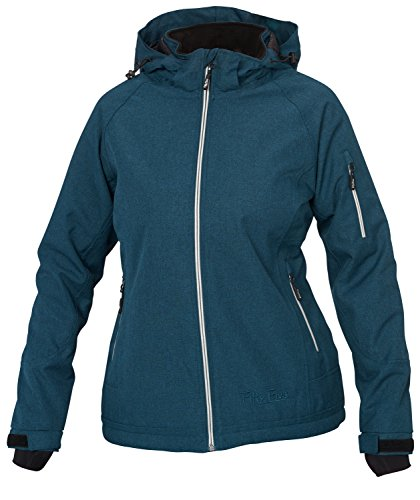 Fifty Five Warme Damen Winterjacke Skijacke Rankin 48 Blau Wasserdicht Winddicht Atmungsaktiv