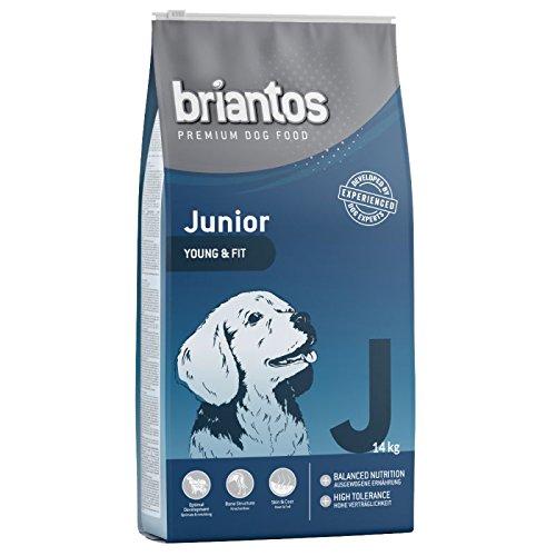 Briantos Nutrition Junior Huhn & Reis Trockenfutter für Hunde, 14 kg