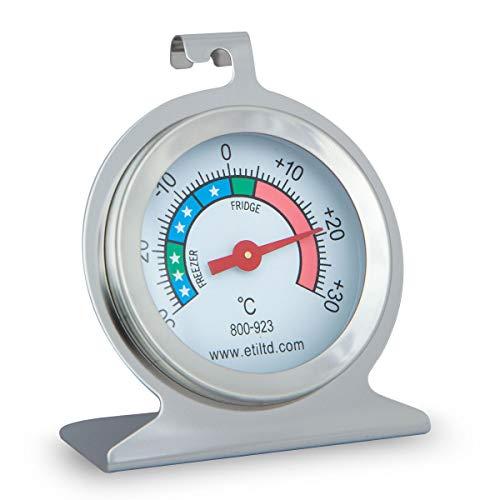 ETI Ltd Edelstahl Kühl-/Gefrierschrank Thermometer Ideal für Zuhause, Restaurants, Bars, Cafés