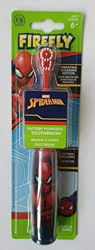 - Cepillo de dientes eléctrico Firefly Marvel Spider-Man con pilas