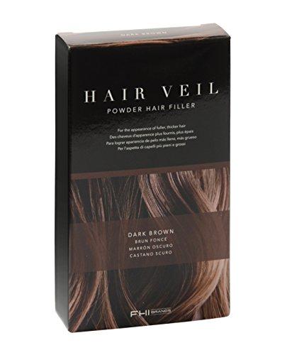 FHI Heat Hair Veil Powder Hair Filler, Dark Brown