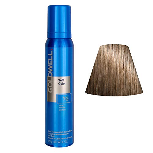 Goldwell Colorance Soft Color Schaumtönung 7G, haselnuss, 1er Pack, (1x 125 ml)